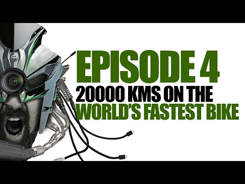 Ep4 :: 20000KMS On Two Of The World's Fastest Bikes ( Ninja H2 And Panigale 1299 )