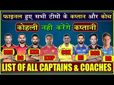 AUCTION के बाद फाइनल हुये IPL के सभी कप्तान | IPL ALL TEAM NEW CAPTAINS | ALL CAPTAINS OF IPL TEAMS Mp3