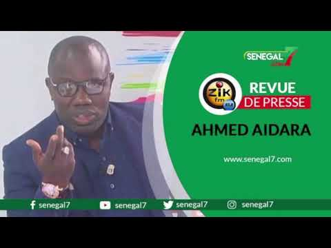 Revue de presse (wolof) Zik Fm du mercredi 09 juin 2021 avec Ahmed Aidara