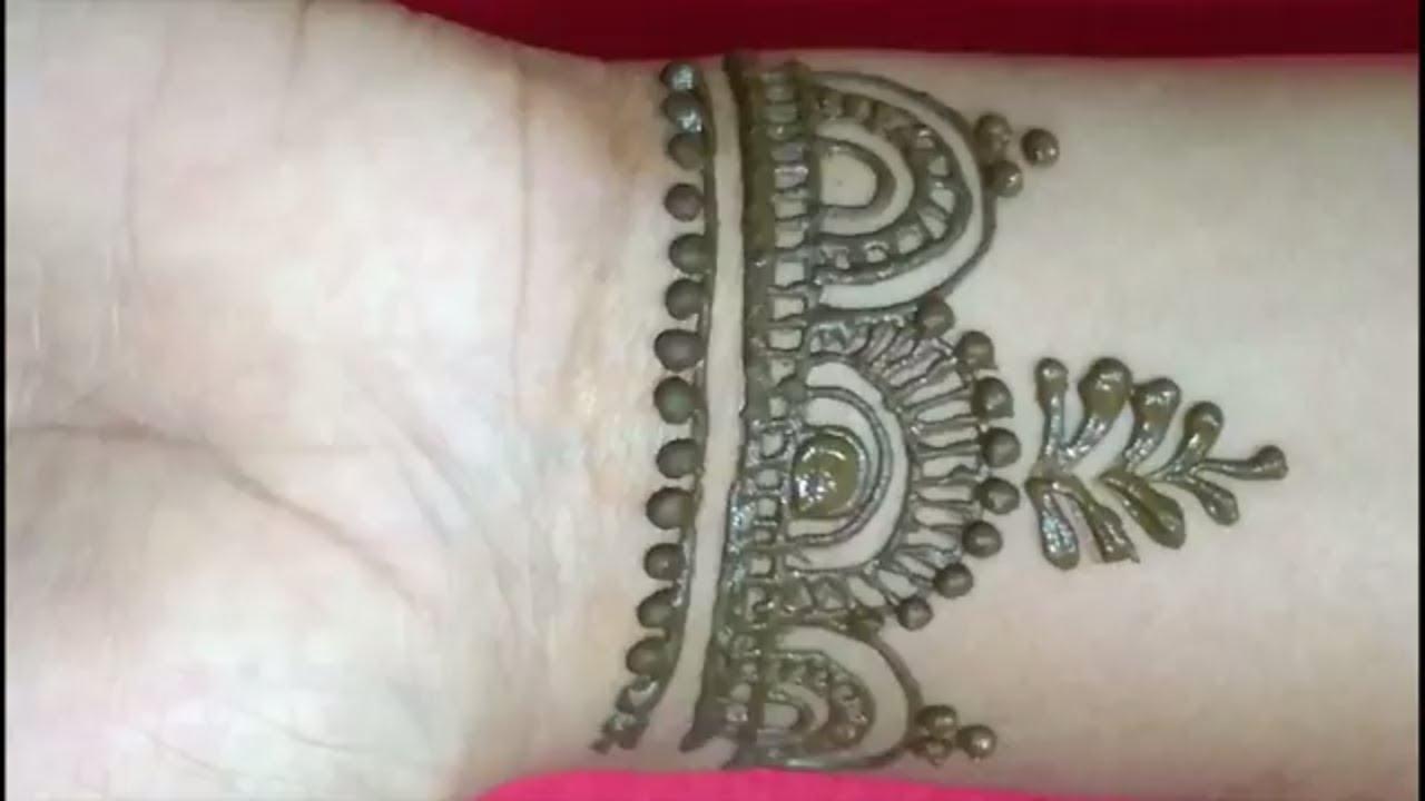 Mehndi Wrist Joint : Best latest easy arabic henna mehndi designs for hands wrist