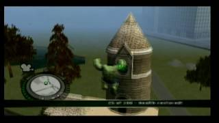 The Incredible Hulk Wii part 10 Vulcan Base Phase 1, The Problem Is The Hulk 2/2