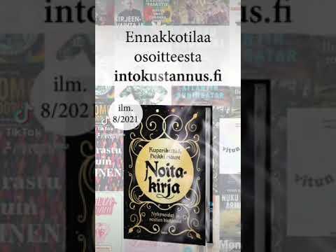 Noitakirja - Nykynoidat & noitien historiaa (into kustannus, 15.8.2021)