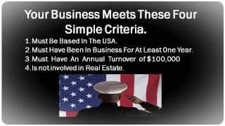 Easy Small Business Loan For Veterans