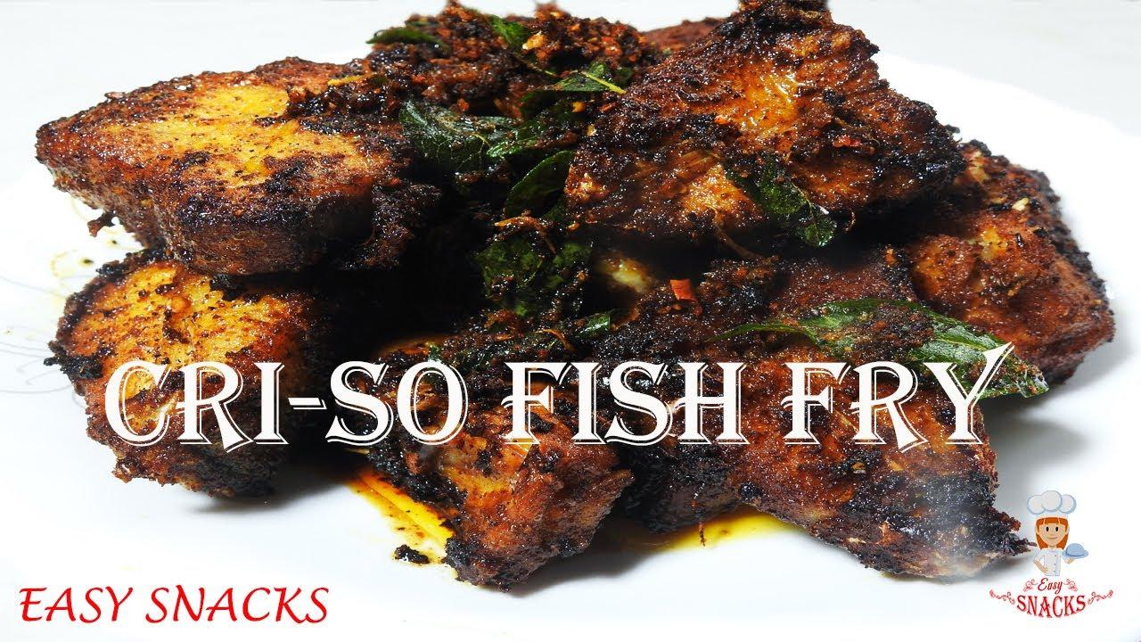 ഇങ്ങനെ മീൻ പൊരിച്ചു കഴിച്ചിട്ടുണ്ടോ ? Cri-so Fish Fry//Criso Style Meen Varuthathu// Episode:153