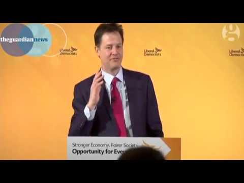 Nick Clegg Grant Shapps Joke over Wikipedia allegations