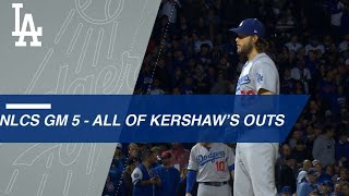 Clayton Kershaw hurls six strong innings to help with NLCS Game 5