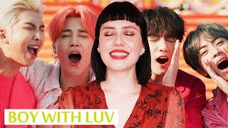 BTS Feat. Halsey - Boy With Luv [На русском || Russian Cover]