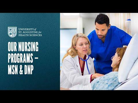 Our Nursing Programs - MSN & DNP Video