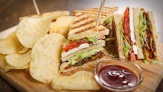 Veg Club Sandwich Recipe  Quick Breakfast  Tiffin  Snack Recipe  The Bombay Chef - Varun Inamdar