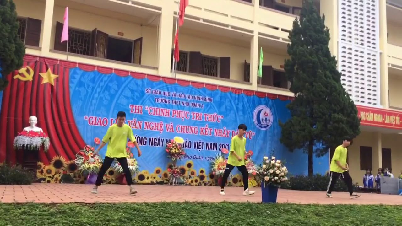 Great shuffle perform at school
