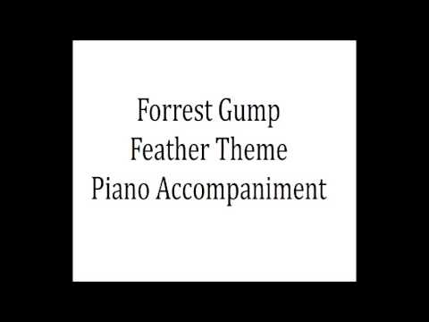 Forrest Gump Piano Accompaniment/Backing (Feather Theme)