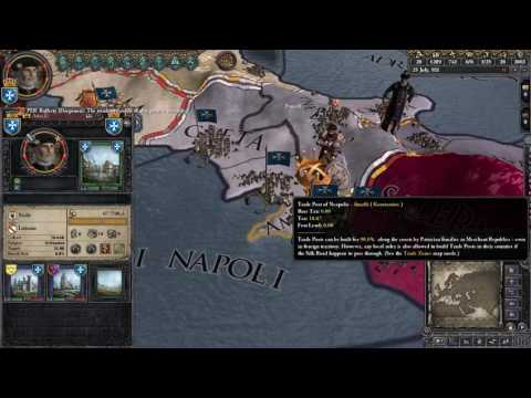 *PSI Live* - Crusader Kings II [Multiplayer] (Patricians of Amalfi) - Part 3: Mr. Prince Mayor