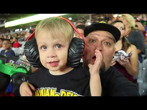 Monster Truck Backflip Monster Jam Day Vlog