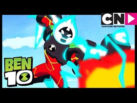 Ben 10 | Heatblast Can FLY! | Bon Voyage | Cartoon Network thumbnail