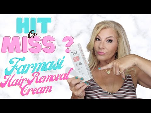 Is It A Hit Or Miss Farmasi Dr C Tuna Hair Remover Cream Youtube