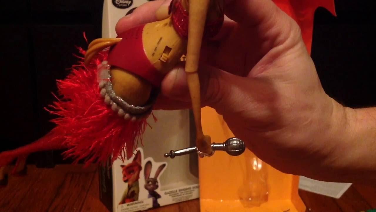 Singing Gazelle Doll Disney Store