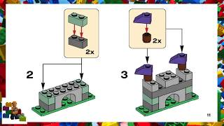 LEGO instructions - Classic - 10713 - Creative Suitcase