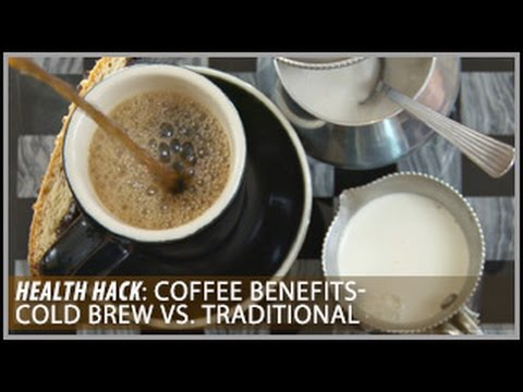 Coffee Benefits | Cold Brew vs. Traditional: Health Hacks- Thomas DeLauer