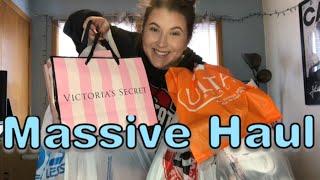 HUGE SHOPPING HAUL   Victoria's Secret,  TJ Max, Ulta & MORE!!!