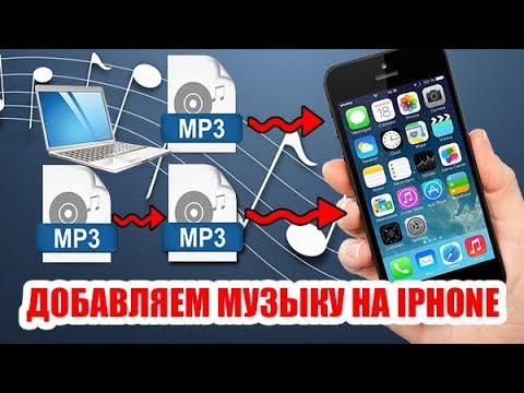 Как загрузить музыку с компьютера на iphone