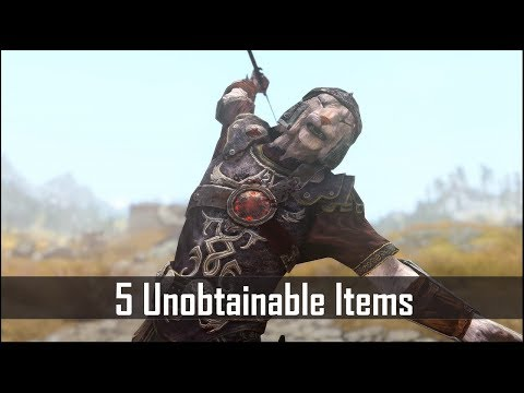 Skyrim: 5 More Unobtainable Items that you're Not Meant to Use - The Elder Scrolls 5: Skyrim Secrets