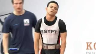 AHMED SAAD Ahmed 2j 160 kg cat. 62 World Weightlifting Championship 2013
