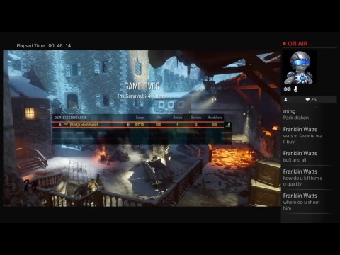 Call of duty black ops 3 Der eisendrache use it and lose it challenge livestream