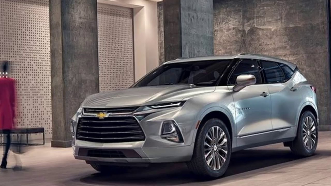 2019 Chevy Blazer Is Back And It Looks Like A Camaro SUV ...