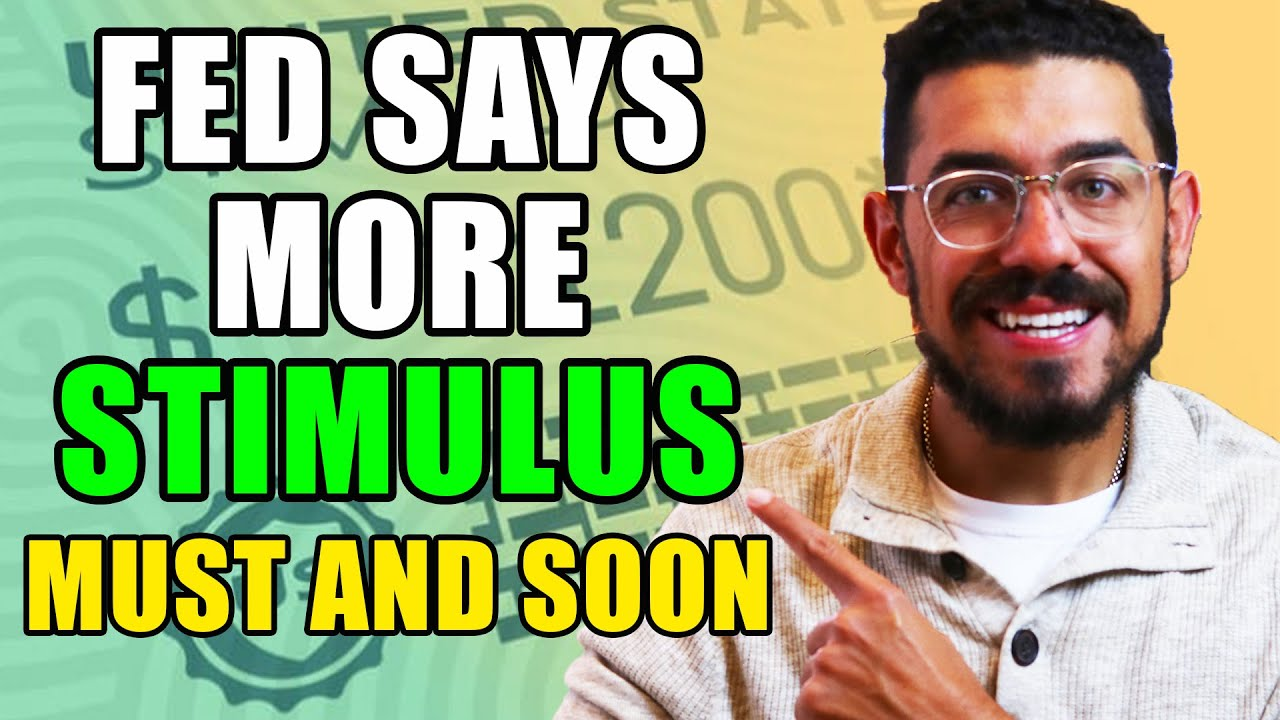WARNING Second Stimulus Check Update  Stimulus Package MUST HAPPEN - FED