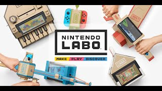 Nintendo Labo House Gameplay