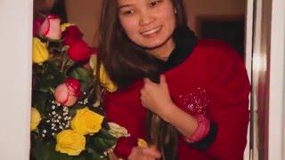 Самое красивое предложение руки и сердца! (Ернар + Меруерт) Астана 29.01.2016 год Клубничная Любовь