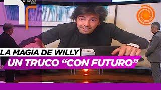 Otra noche con Willy Magia y un truco en donde predice el futuro