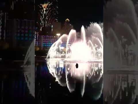 Air mancur menari Macao 2015