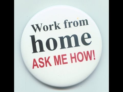 *Ways To Work At Home* In 2018