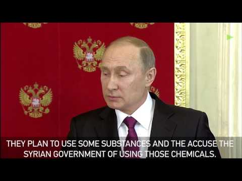 Putin: Idlib 'chemical attack' was false flag to set Assad up, more may come