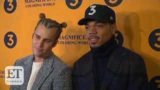 Justin Bieber Supports Chance The Rapper At Film Premiere