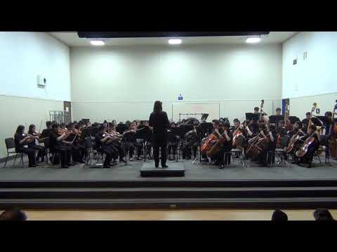The Sierramont Middle School. Intermediate Orchestra. March 2019