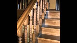 Лестница кладовка с поворотом на 90 градусов(Изготовление деревянных лестниц в Барнауле. Тел.+793852) 533-977 Компания