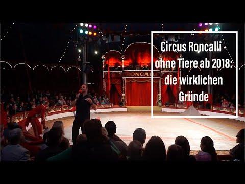 Circus Roncalli - ohne Tiere ab 2018: die wirklichen Gründe