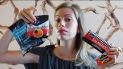 Eating Salmiakki Taste Test Challenge: Trying finnish candy