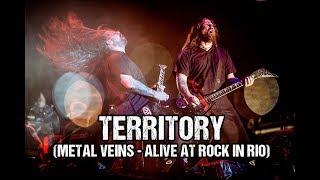 Sepultura feat. Les Tambours du Bronx - Territory (Metal Veins - Alive at Rock in Rio)