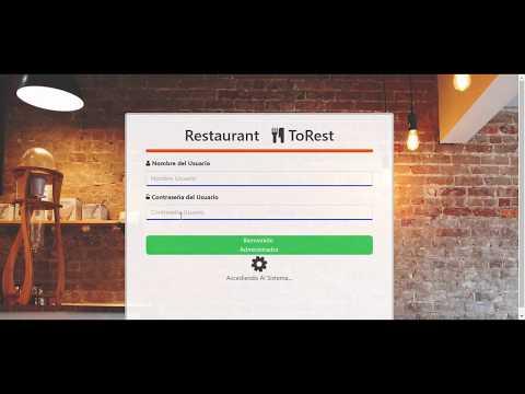 Sistema para Restaurant con PHP y MYSQL con patron MVC Gratuito
