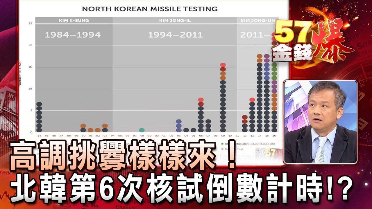 高調挑釁樣樣來!北韓第6次核試倒數計時!?- 丁萬鳴《57金錢爆精選》2017.0413 - YouTube