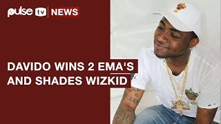 Davido Wins 2 MTV Europe Music Awards 2017, Shades Wizkid's AFRIMA Awards | Pulse TV