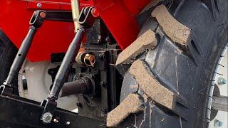 Минимально дешёвый трактор с 3-х точкой от ЗУБР -надежность !
