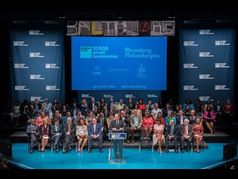 Goldman Sachs 10,000 Small Businesses Graduation in Baltimore