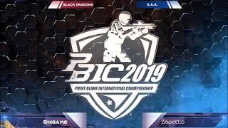 PBIC 2019 - Black Dragons [Brasil] Vs [THAILAND] Attack All Around - Point Blank