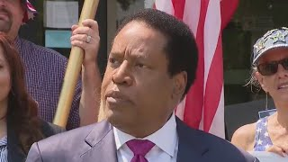 Radio host Larry Elder not on list of candidates for Newsom recall election