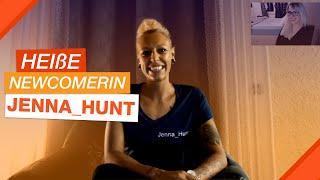 Heiße Newcomerin Jenna Hunt im Interview