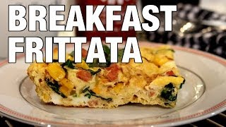 Quick & Healthy Breakfast Frittata   The Hungry Bachelor